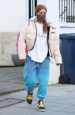 MAISIE SMITH Arrives at Strictly Come Dancing Rehearsals in London 11/26/2020