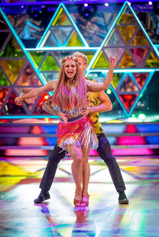 MAISIE SMITH at Strictly Come Dancing 11/21/2020