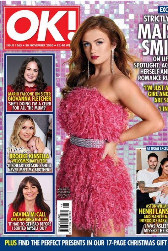 MAISIE SMITH for OK! Magazine, November 2020