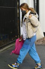 MAISIE SMITH Leaves Strictly Come Dancing Rehearsals in London 11/26/2020