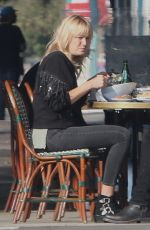 MALIN AKERMAN and Jack Donnelly at Figaro Bistrot in Los Feliz 11/23/2020