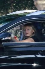 MALIN AKERMAN Out Driving in Los Angeles 11/14/2020