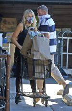 MALIN AKERMAN Out Shopping in Los Feliz 11/17/2020