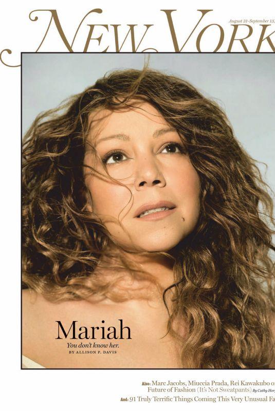 MARIAH CAREY in New York Magazine, August/September 2020