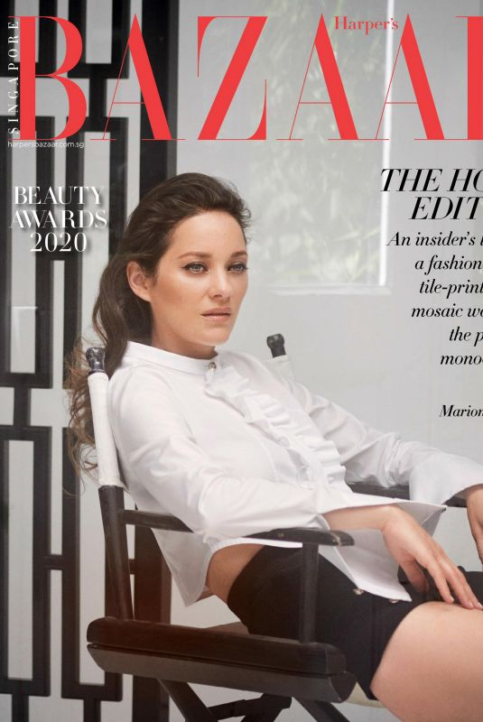 MARION COTILLARD in Harper's Bazaar Magazine, Singapore November 2020