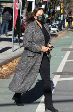 MARISKA HARGITAY and KELLI GIDDISH on the Set of Law and Order: Special Victims Unit in New York 11/16/2020