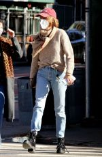 MAYA HAWKE Out and About in New York 11/16/2020