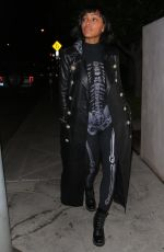MEAGAN GOOD at Catch LA in West Hollywood 10/31/2020