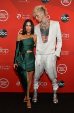 MEGAN FOX and Machine Gun Kelly at American Music Awards 2020 in Los Angeles 11/22/2020