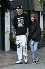 MEGAN FOX and Machine Gun Kelly Out in Studio City 11/06/2020
