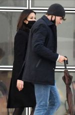 MELANIE SYKES and Her Bofyfriend Riccardo Simionato Out in Venice 11/16/2020