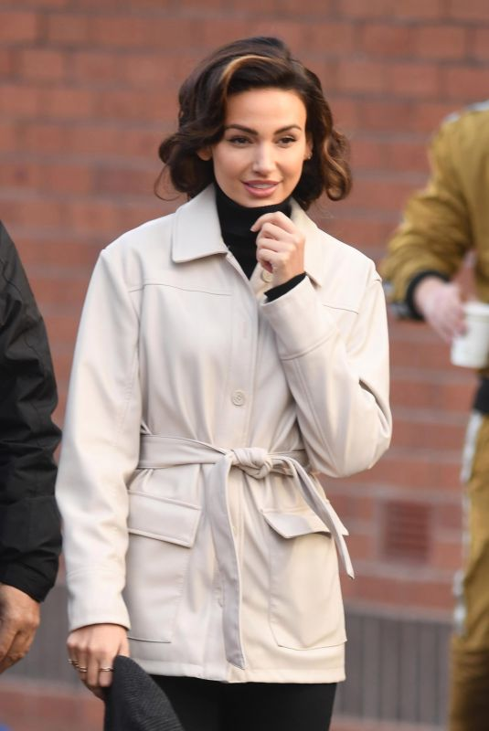 MICHELLE KEEGAN on the Set of Brassic in Manchester 11/11/2020