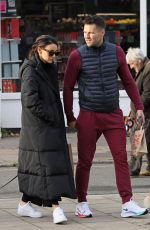 MICHELLE KEEGAN Out with Her Dog in Essex 11/14/2020