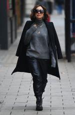 MYLEENE KLASS Arrives at Global Radio in London 11/30/2020