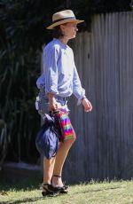 NATALIE PORTMAN in Denim Shorts Out in Sydney 11/27/2020