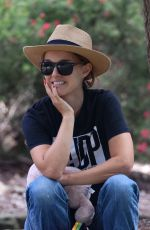 NATALIE PORTMAN Out a Park in Sydney 11/24/2020