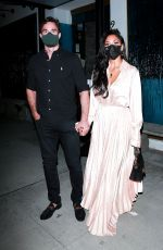 NICOLE SCHERZINGER and Thom Evans Night Out in Beverly Hills 11/06/2020