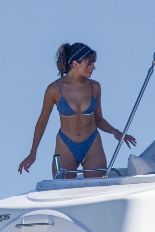 OLIVIA CULPO in Bikini at a Yacht in Cabo San Lucas 10/31/2020
