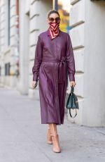 OLIVIA PALERMO Out and About in New York 11/05/2020