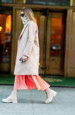 OLIVIA PALERMO Out in New York 11/17/2020