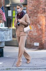 OLIVIA PALERMO Out in New York 11/20/2020
