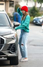 OLIVIA WILDE Leaves Her House in Los Angeles 11/29/2020