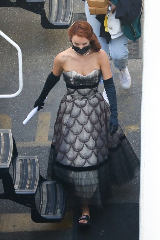 OLIVIA WILDE on the Set of Don't Worry Darling in Los Angeles 11/02/2020