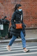 PADMA LAKSHMI Out and About in New York 11/20/2020