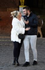 PAIGE TURLEY and Finley Tapp Out in Manchester 11/13/2020
