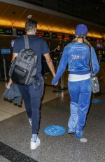 PARIS HILTON and Carter Reum at LAX Airport in Los Angeles 11/03/2020