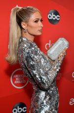 PARIS HILTON at American Music Awards 2020 in Los Angeles 11/22/2020