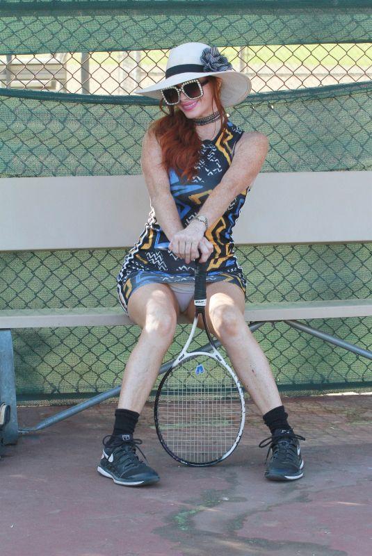 PHOEBE PRICE at Tennis Practice in Los Angeles 11/14/2020