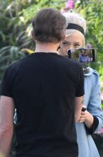 POM KLEMENTIEFF and Simon Pegg Out in Venice 11/10/2020