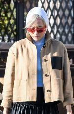 POM KLEMENTIEFF Out and About in Venice 11/13/2020
