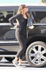 Pregnant APRIL LOVE GEARY Arrives at Doctor