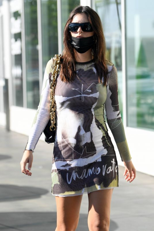 Pregnant EMILY RATAJKOWSKI Out in Los Angeles 11/14/2020