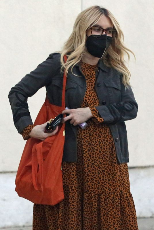Pregnant EMMA ROBERTS Out for Furniture Shopping in Los Angeles 11/24/2020