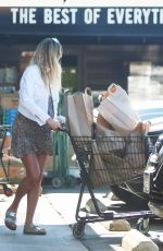 Pregnant JESSICA HART Out in Los Angeles 11/05/2020