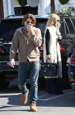 RACHEL ZOE and Rodger Berman at Brentwood Country Mart 11/15/2020