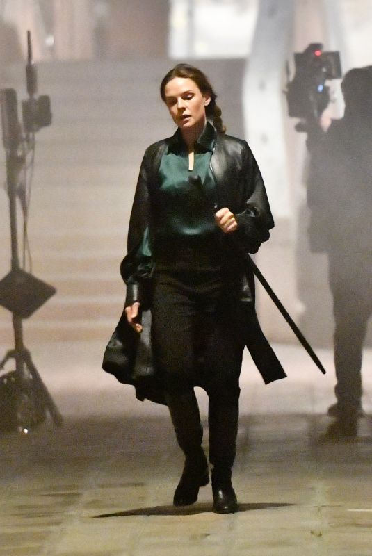 REBECCA FERGUSON on the Set of Mission: Impossible 7 in Venice 11/07/2020