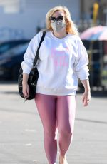 REBEL WILSON Out and About in Los Angeles 11/03/2020