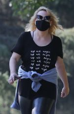REBEL WILSON Out Hikinig in Los Angeles 11/11/2020