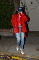 RIHANNA Leaves Giorgio Baldi in Santa Monica 11/24/2020