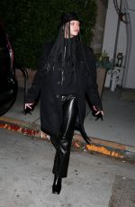 RIHANNA Out for Dinner in Santa Monica 11/07/2020