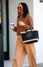 RUMER WILLIS Arrives at a Hair Salon in Beverly Hills 11/17/2020