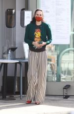 RUMER WILLIS Out for Coffee in West Hollywood 11/20/2020