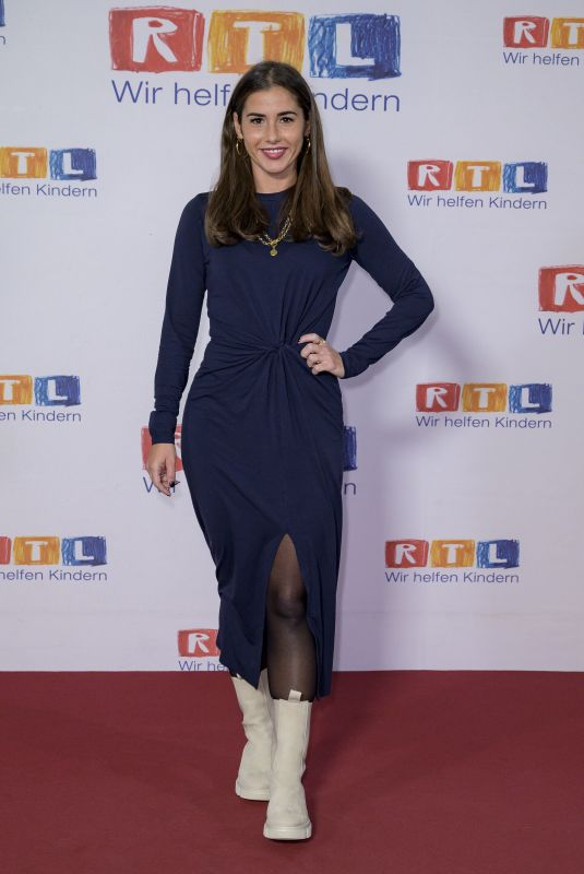 SARAH LOMBARDI at 25th RTL Spendenmarathon 11/19/2020