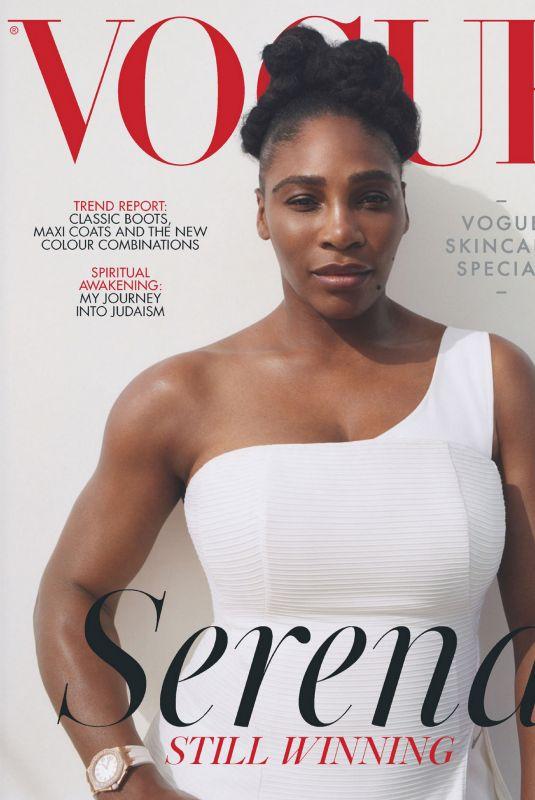 SERENA WILLIAMS in Vogue Magazine, UK November 2020