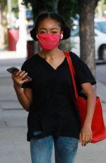 SKAI JACKSON Arrives at DWTS Studio in Los Angeles 11/06/2020