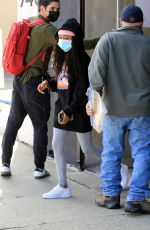 SKAI JACKSON Leaves DWTS Rehersal in Los Angeles 11/03/2020